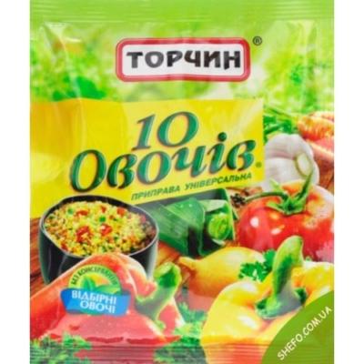 10 овощей Торчин 60г