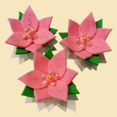 Украшение Лилии розовые Украса