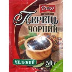 Перец черный молотый Деко 50г