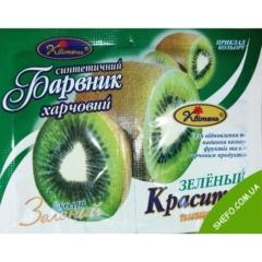 Пищевой краситель Зеленый