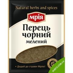 Перец черный молотый Мрия 20г