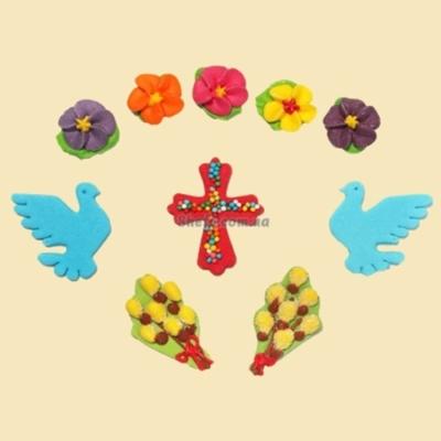 Пасхальный декор Набор с голубями Сладо