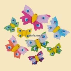 Пасхальное украшение Метелики казкові Добрик